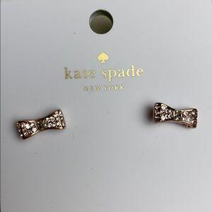 Kate Spade Rose Gold Earrings. New